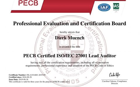 Zertifikat erneuert
